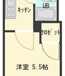 井口ビューハイツ 203号室 間取り