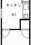 第一パークサイドマンション 404号室 間取り