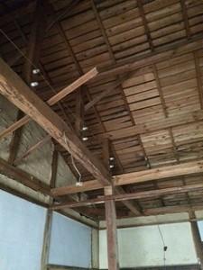 宇品涼和荘屋根